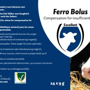 Ferror Bolus für Kälber